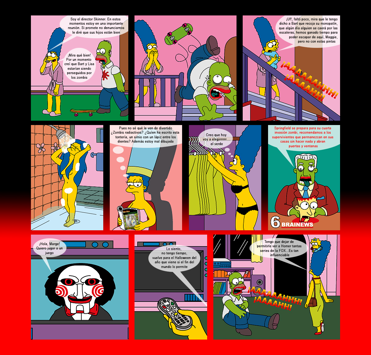 Marge Simpson desnuda | Apocalipsis Zpringfield | Página 2: https://zimpsons.wordpress.com/tag/marge-simpson-desnuda/page/2/