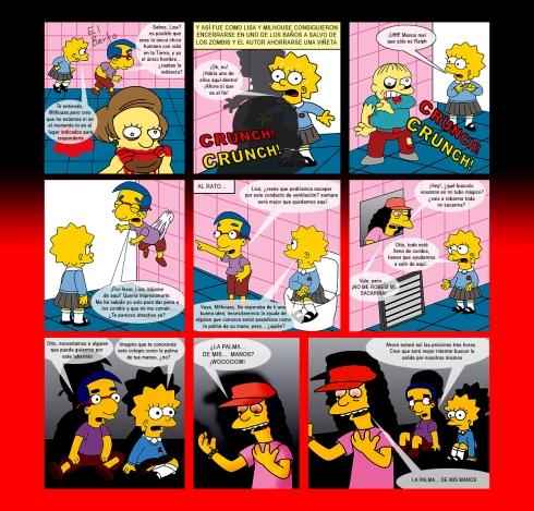 Lisa Simpson Comic