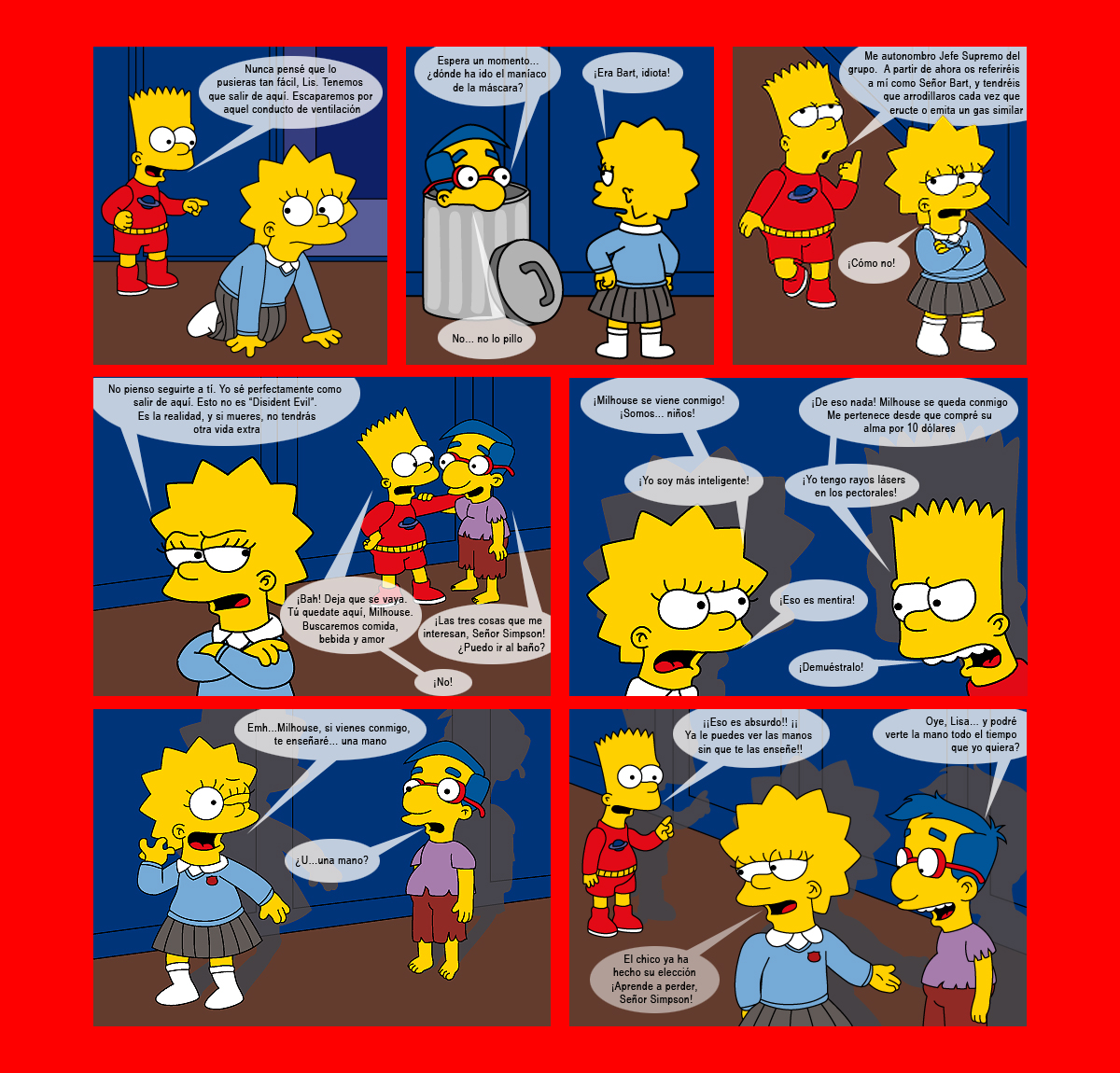 Marge Simpson Desnuda